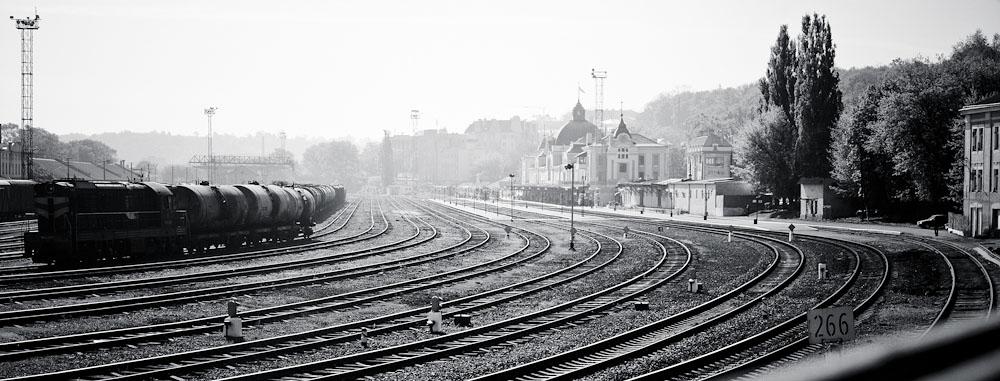 Вокзал в Черновцах, вид сбоку © 2010 Alex Nedoviziy