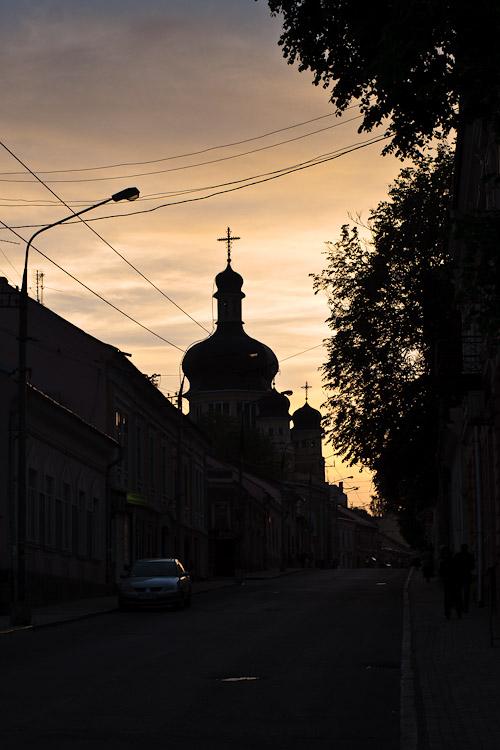 Закат на улице. Черновцы © 2010 Alex Nedoviziy
