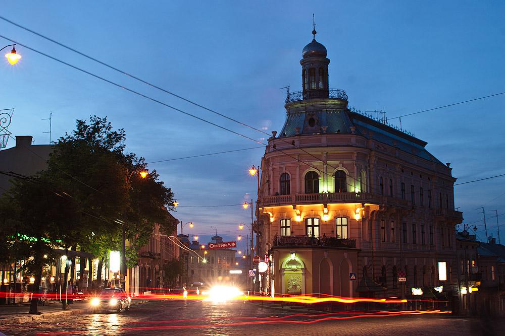 Дом-корабль. Черновцы © 2010 Alex Nedoviziy