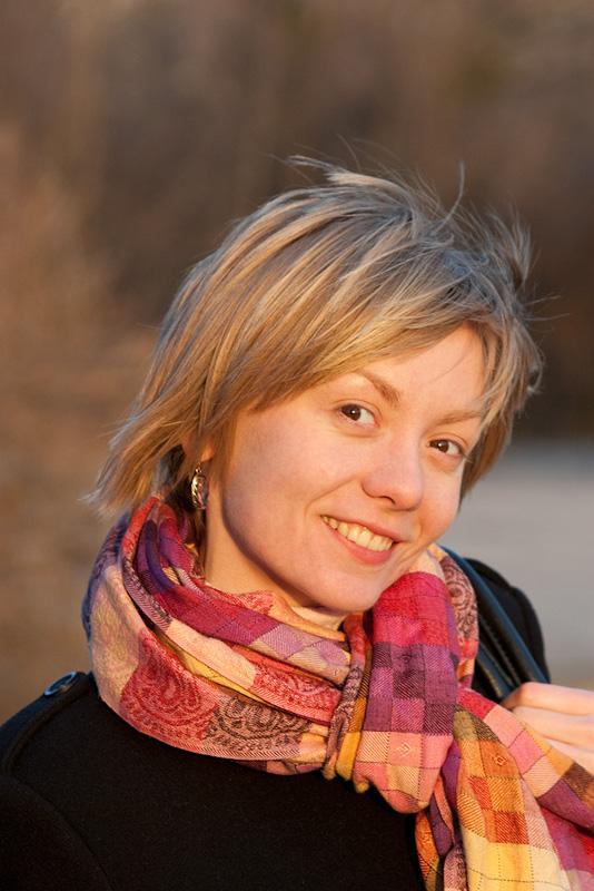 Портрет на закате © 2010 Alex Nedoviziy