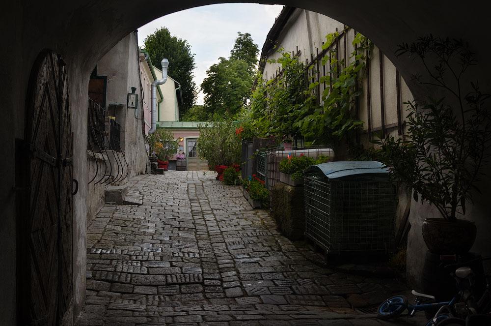 Nußdorf. Wien, Österreich © 2015 Alex Nedovizii