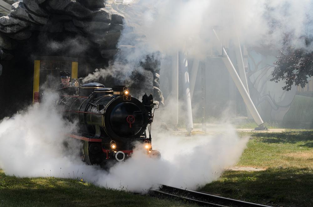 Lillputbahn в Пратері. Відень, Австрія © 2015 Alex Nedovizii