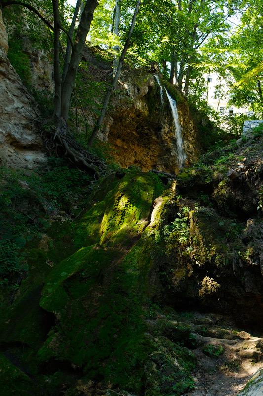 Водоспад в парку курорта Lillafüred, Угорщина © 2012 Alex Nedovizii
