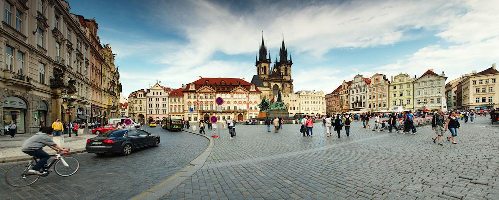 Staroměstské náměstí, Staré Město, Praha, Česká republika © 2013 Alex Nedovizii