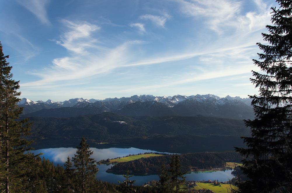 Погляд на Walchensee - 2. Баварія, Німеччина © 2014 Alex Nedovizii