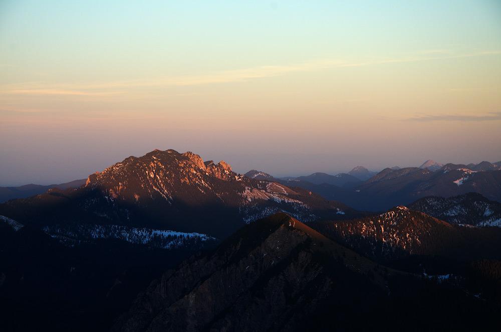Benediktenwand (1799 ü.d.M.). Alpen, Bayern. Deutschland © 2014 Alex Nedovizii