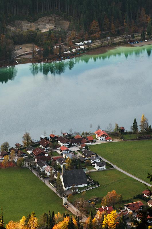 Погляд на Walchensee. Баварія, Німеччина © 2014 Alex Nedovizii