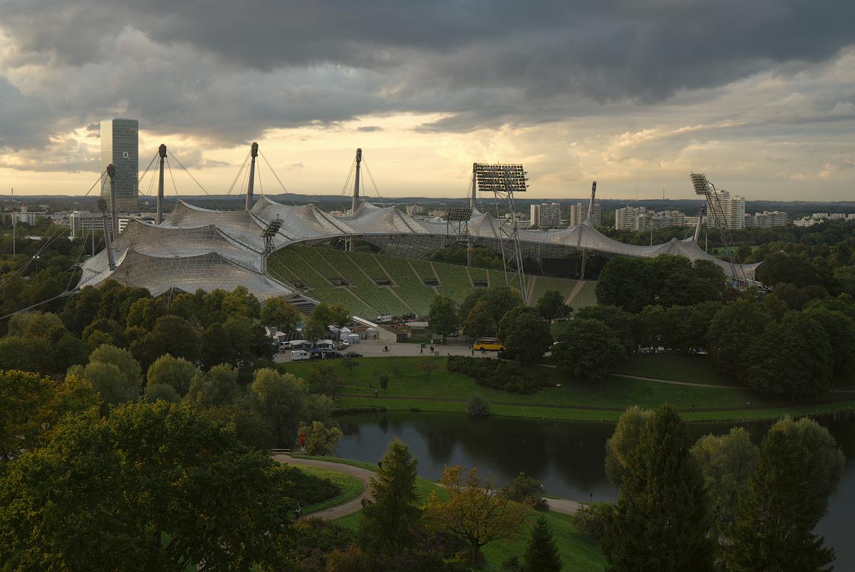 Olympiapark. München, Bayern, Deutschland © 2017 Alex Nedovizii