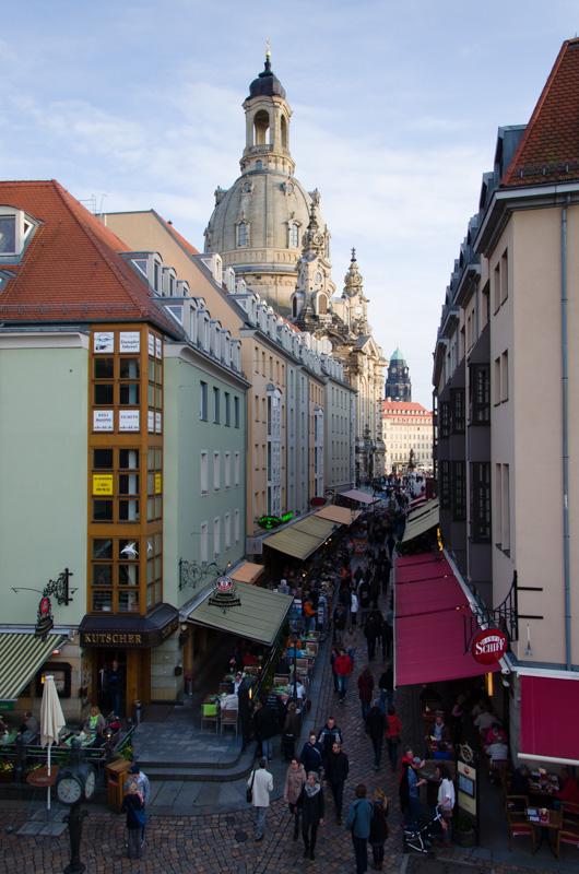 Münzgasse. Dresden, Deutschland © 2015 Alex Nedovizii