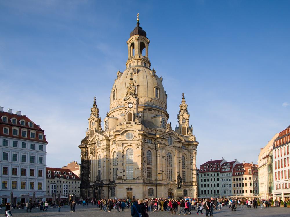 Frauenkirche. Dresden, Deutschland © 2015 Alex Nedovizii