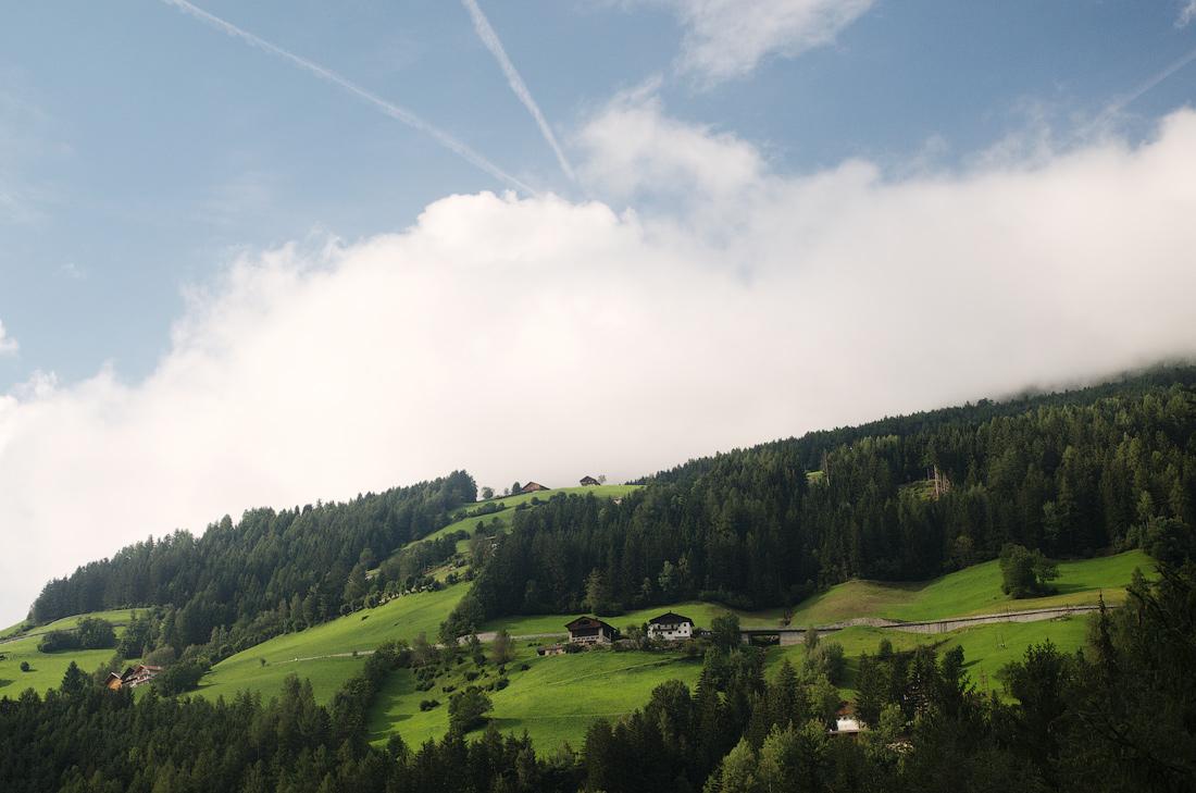 Зюдтірольський пейзажик. Італія, автономна область Південний Тіроль, провінція Больцано © 2015 Alex Nedovizii