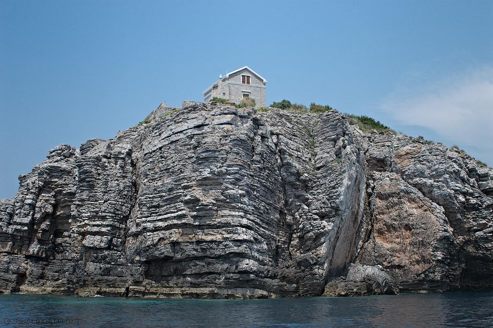 Дом с видом на море. Остров Свети Никола, Черногория © 2010 Alex Nedoviziy
