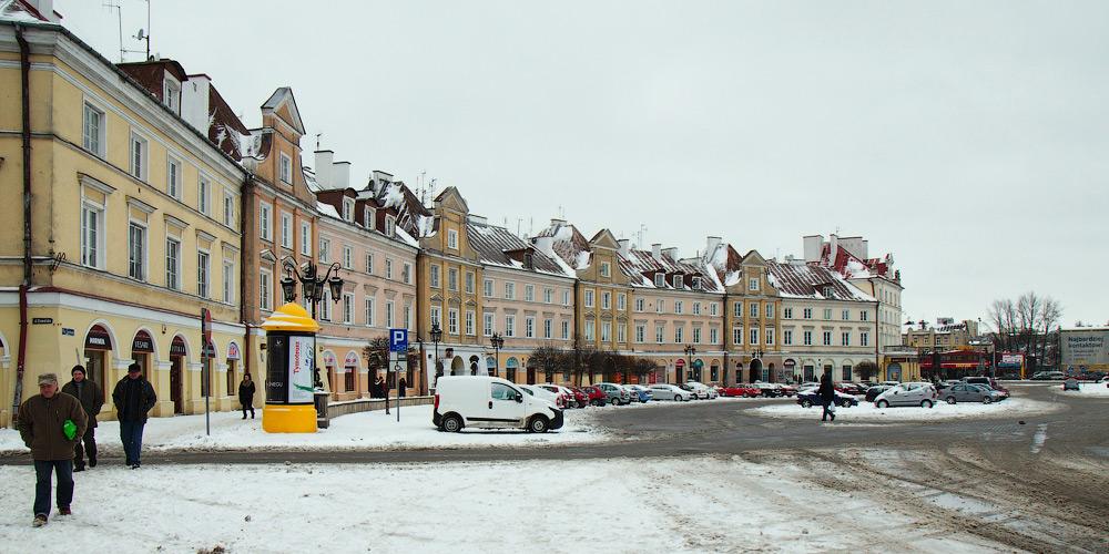 Замкова площа, Люблін, Польща. © 2013 Alex Nedovizii