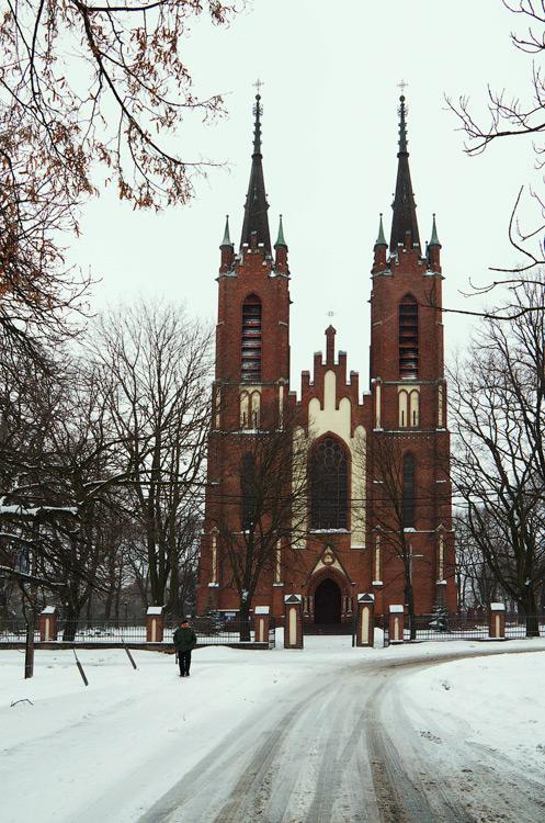 Kościół św Bartłomieja w Łopienniku Górnym. Polska © 2013 Alex Nedovizii