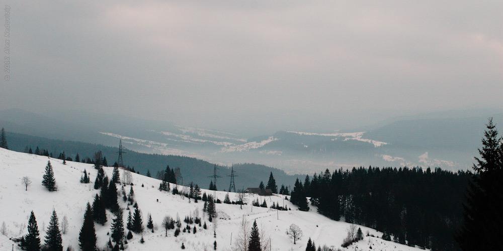 Микуличин під хмарко-ковдрою © 2012 Alex Nedoviziy