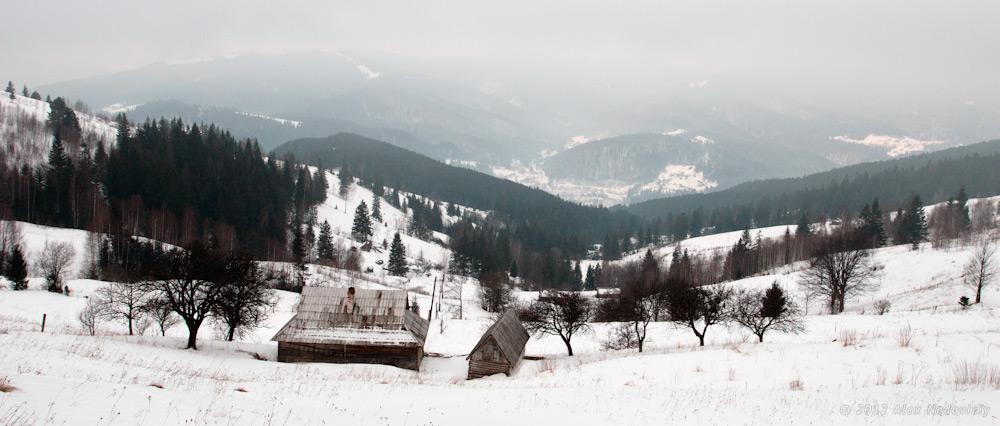 Хатинка в горах © 2012 Alex Nedoviziy